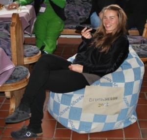 chillisy® Sölden Weltcup Opening 2012 mit Tina Maze