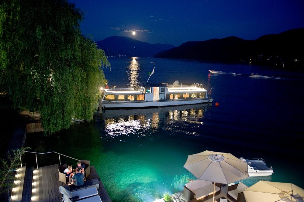 """Einzigartig: KOLLERs Hotel****s am Millstätter See präsentiert Relax-Schiff """"Swan"""" als neue Wohlfühloase"""