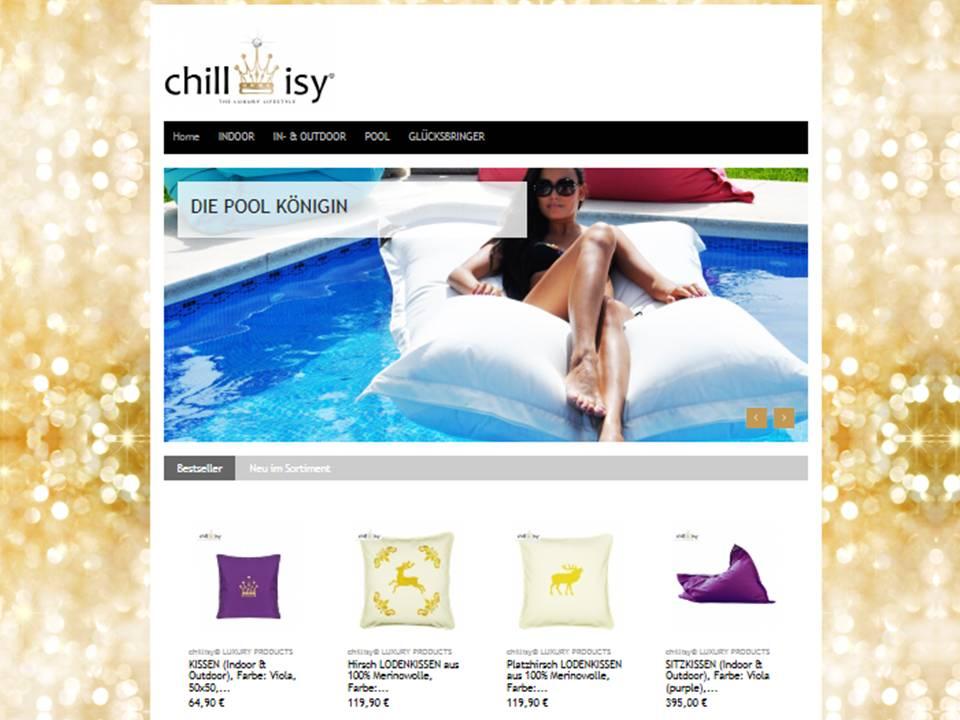 Besuchen Sie uns im chillisy® Online Shop www.chillisy-shop.eu