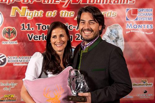 2014 - Best – Top Partner:  Heli Tirol & Austria Saskia und Roy Knaus