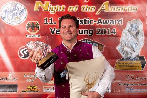 chillisy® Award Partner von Top Of The Mountains, Schladming Hohenhaus Tenne Touristic-Award 2014