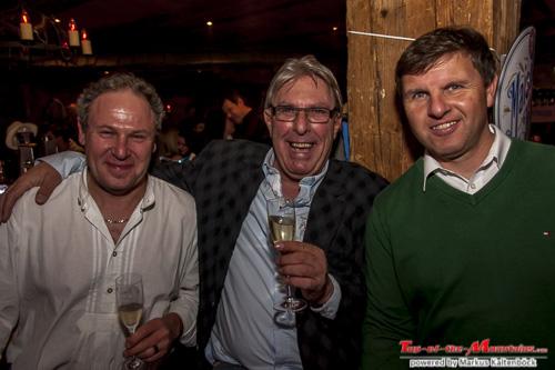 Andy Lang, Helmut Rinnhofer und Michael Keller