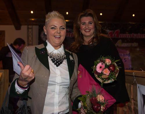 2015 Top-of-the-Mountains: Claudia de Ferrari und Alexandra Jung - Harley-Davidson Innsbruck-Bozen-Trient