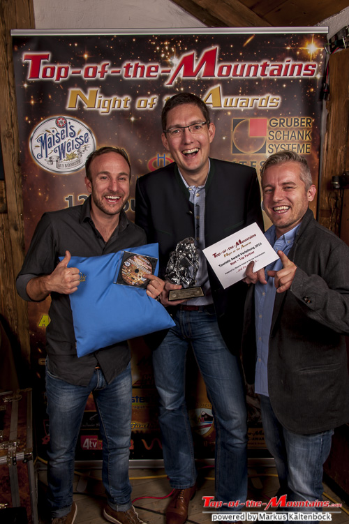 2015 Top-of-the-Mountains - Best – Top Partner Bacardi-Martini. Mag. Robert Hebling mit Team