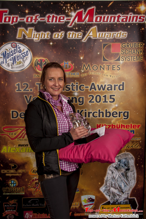 2015 - Top-of-the-Mountains - Mrs. Top-of-the-Mountains 2015: Christiane Aigner, Kirchberg