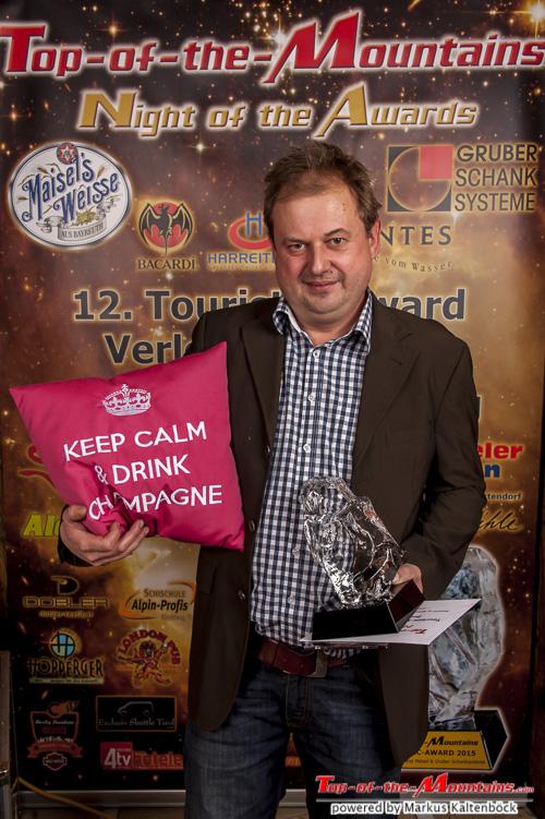 2015 - Top-of-the-Mountains Best – Restaurant: Kitzalm, Kirchberg von Christian Aigner