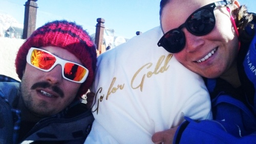 """Go for Gold"" in Sölden am Giggijoch"