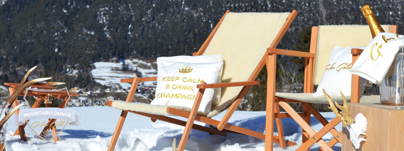 """CHILLISY MOUNTAIN LOUNGE """"GO FOR GOLD"""""""