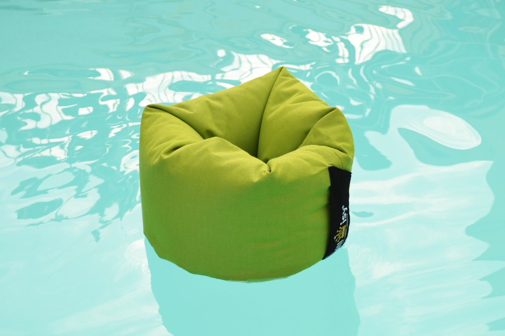 Pool James II, Poolkissen, chillisy, waterproof, whirlpool, pool, champagne belt, champagner, dom perignon rose, made in germany, outdoor, Getränkekühler, Cooler, grün, lime