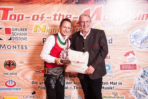 Helmut Rinnhofer, Award, Musik, Die Jungen Zillertaler, chillisy, Polster, Kissen Zillertal, Fügen, top-of-the-mountains