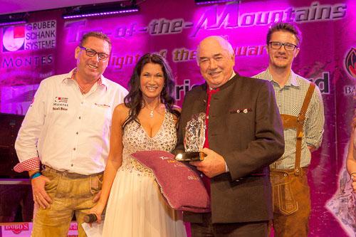 "Touristic-Award ""Best - Ort"": St. Anton am Arlberg - Kommerzialrat Ernst Kössler"