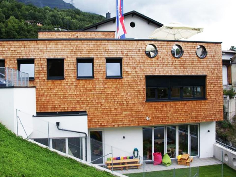 Neu erbaut: Haus der Kinder in Pians, Tirol