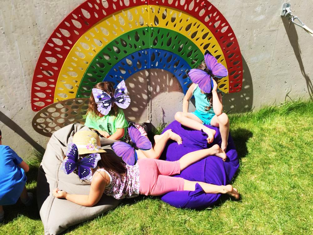 Endlich Sommer im Haus der Kinder in Pians (Tirol)
