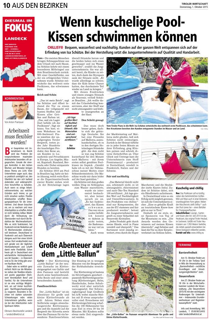 chillisy® Gründerin und Inhaberin Isa Schütze im Interview mit der