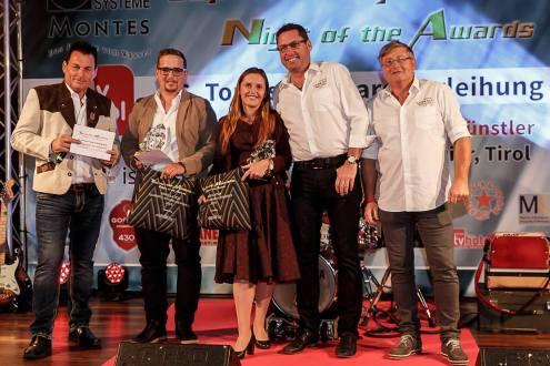 Top-of-the-Mountains Touristic-Award-Verleihung 2019 in Biberwier, Hotel MyTirol in der Tiroler Zugspitz Arena, Awardgewinner