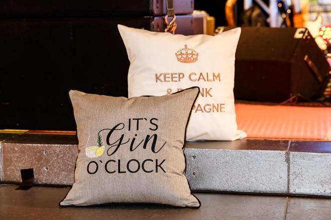 IT'S GIN O'CLOCK - Neue Indoor & Outdoor Kissen by chillisy®