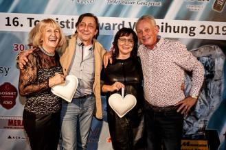 Top-of-the-Mountains Touristic-Award-Verleihung 2019 in Biberwier, Hotel MyTirol in der Tiroler Zugspitz Arena, Herzliche Gäste :-)