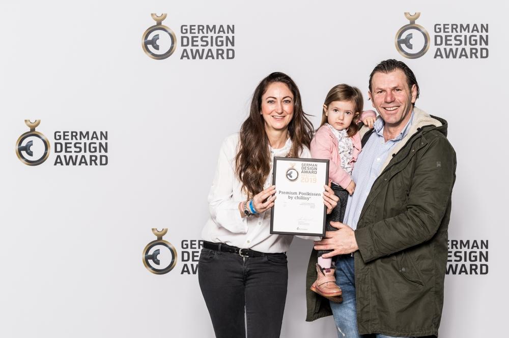 Chillisy gewinnt German Design Award Special 2019